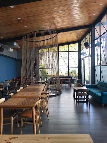 Thiết kế thi công nội thất quán cafe trọn gói