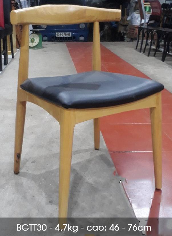 Setup Ghế gỗ nhà hàng giá rẻ tại HCM